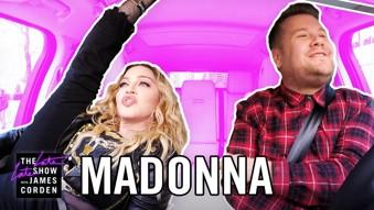 Madonna in Carpool Karaoke